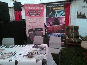 DMF stand Vibstock 2014